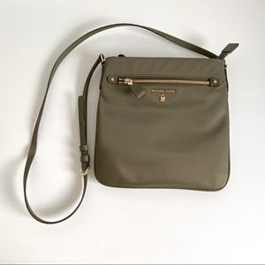 Michael Kors Kelsey Nylon Small Crossbody Bag